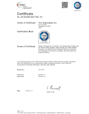 TÜV SÜD Certification ISO 13485:2016